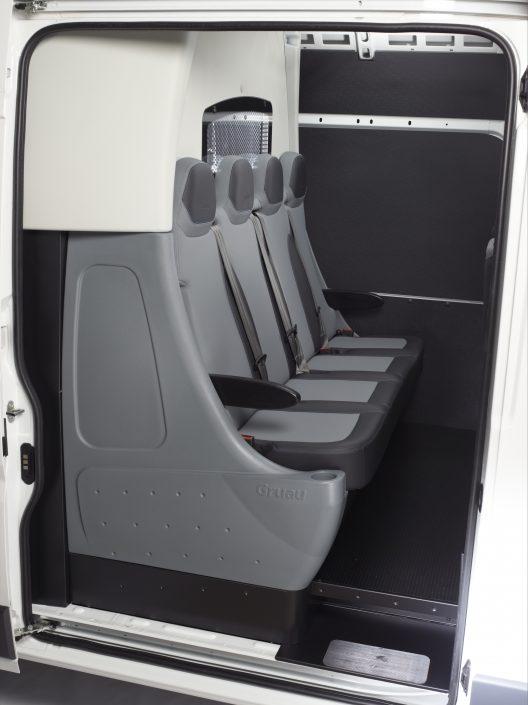 cabine approfondie confo-cab 4 places