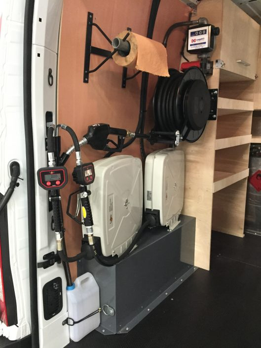 aménagement véhicule chantier et atelier