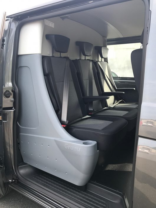 cabine approfondie confo-cab 3 place