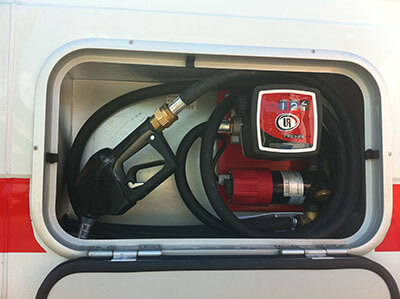 trappe pour réservoir gas-oil