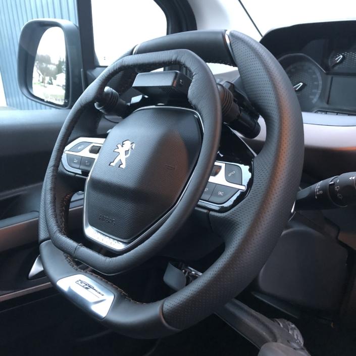 Jack Bourdon - cercle accélérateur Electronique sur volant - Peugeot Rifter