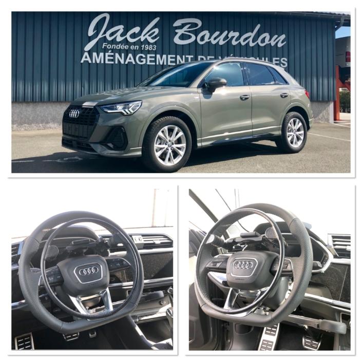 Jack Bourdon - cercle accélérateur Electronique sur volant - Audi A1