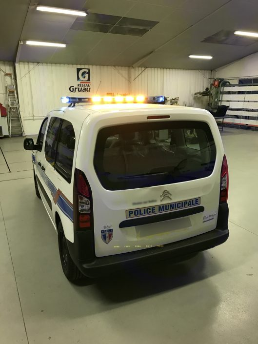 POLICE MUNICIPALE BERLINGO