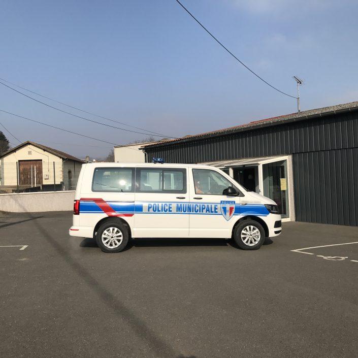 police municipale volkswagen T6