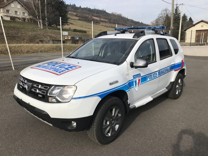 police municipale duster