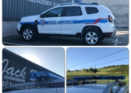 dacia duster police municipale - jackbourdon