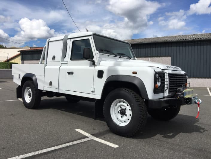 land rover pick up sur mesure 1