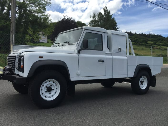 land rover pick up sur mesure