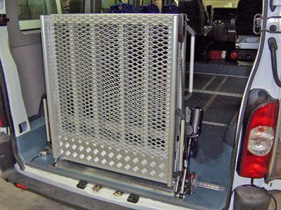 rampe 2 vantaux arrière