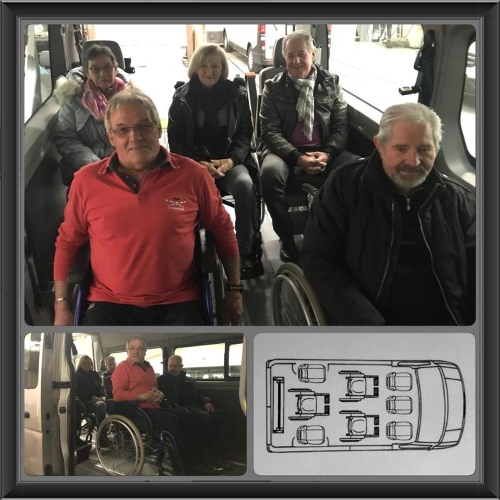 TPMR - renault master 3 fauteuils