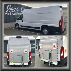 jack bourdon - hayon Dhollandia DHLSP 500 kg