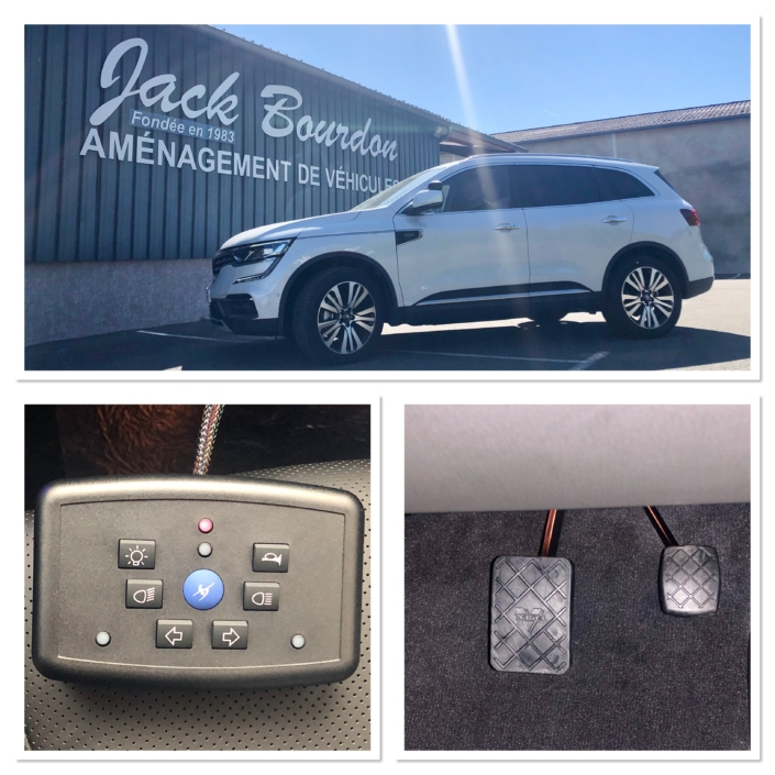 Jack Bourdon - Amenagement d'un Renault Koléos en Auto Ecole