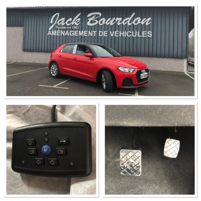 Jack Bourdon - Transformation d'Audi A1 en Véhicule Auto Ecole