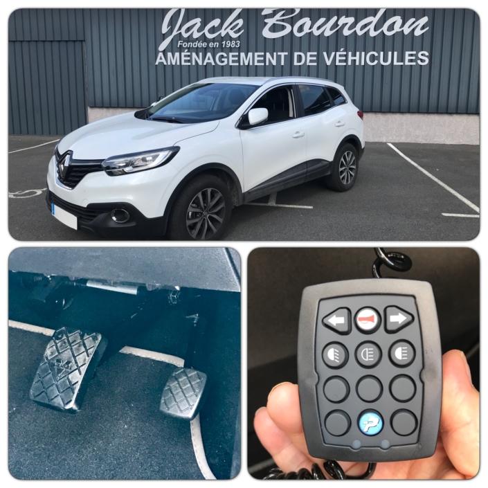 Jack Bourdon - Aménagement d'un Renault Scenic en Auto Ecole