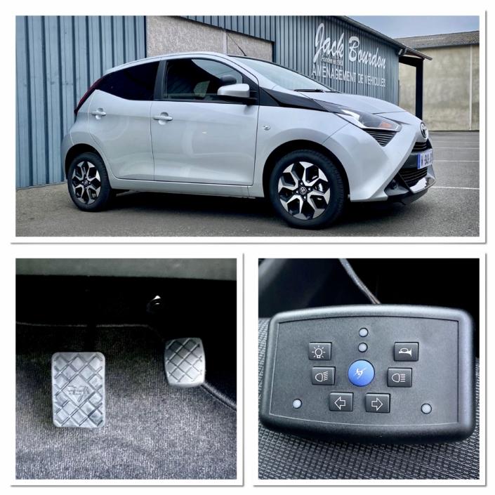 Jack Bourdon - Aménagement d'une Toyota Aygo en véhicule auto école