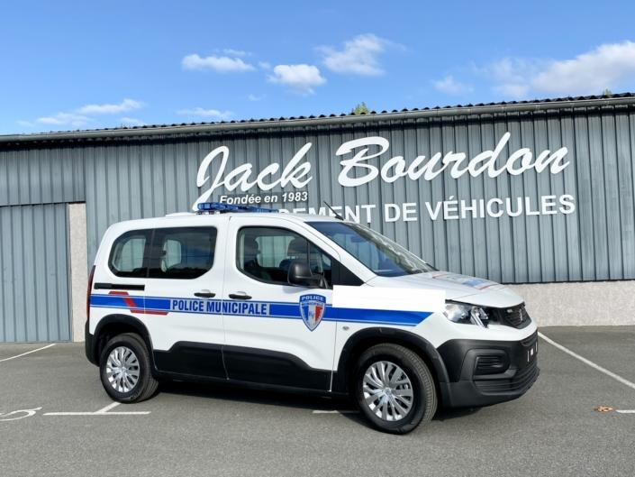 jack bourdon - police municipale - Peugeot rifter